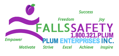 Plum's® Fall Protection Helmets, Hip Protectors Falls Safety Products